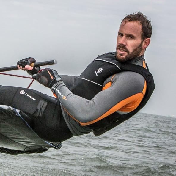 man wearing wetsuit